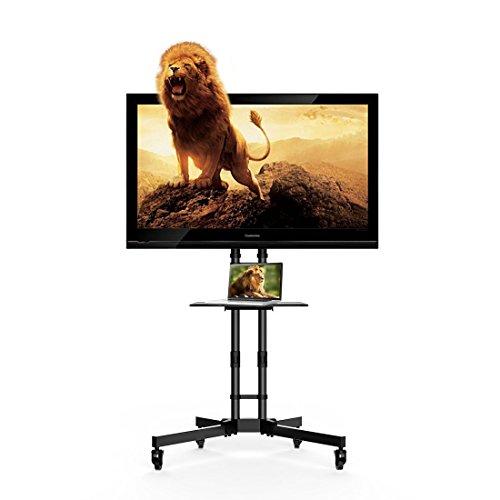 """(Amazon PrimeDay Tagesangebot) Fleximounts C06 - TV Ständer, rollbar (32-65"""" TV)"""