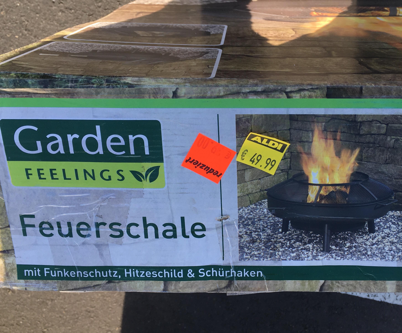 Garden Feelings Feuerschale [Lokal Aldi Kassel-Helleböhn]