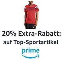 20% auf Sportmarken für Prime Kunden