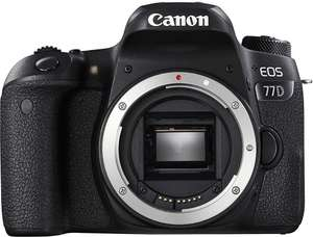 [Amazon Prime Day] Canon EOS 77D SLR-Digitalkamera inkl. EF-S 18-55mm 1:4-5,6 is STM Objektiv oder nur das Gehäuse
