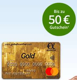 Advanzia Kreditkarte (dauerhaft gebührenfrei) + 50€ BestChoice Gutschein
