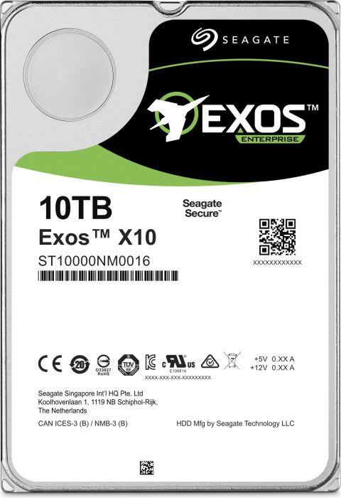[Mix Computer] Seagate Exos X X10 10TB, 512e, SATA 6Gb/s (ST10000NM0086)