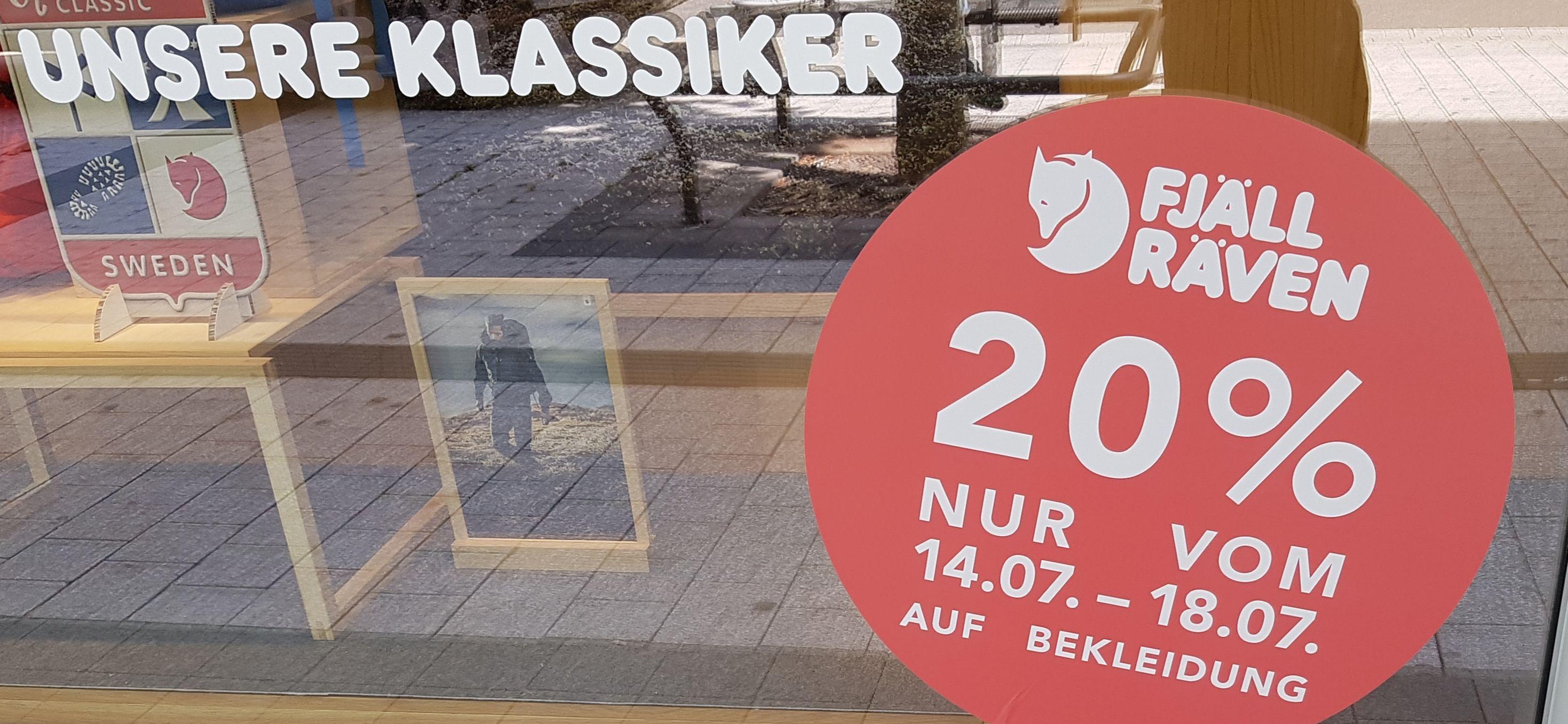 Globetrotter Stuttgart 20% auf Fjällräven