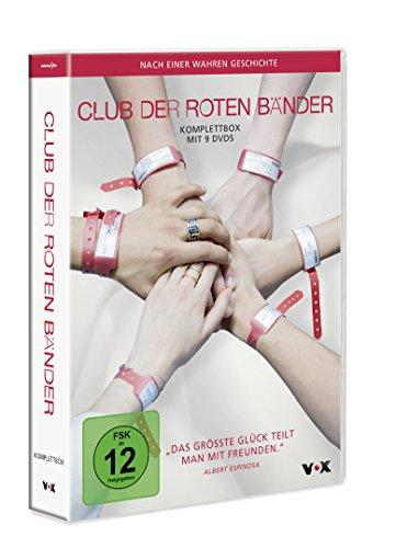 [amazon prime]  Club der roten Bänder - Komplettbox (Staffel 1-3 auf 9 DVDs) im Blitzangebot bis 18 Uhr