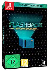 Flashback: 25th Anniversary - Collector's Edition (Switch) für 28,97€ (Amazon Prime Day)