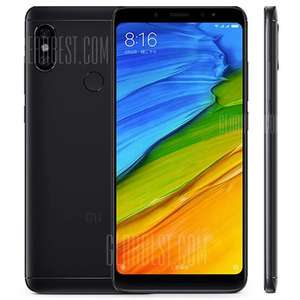 [Gearbest] Xiaomi Redmi Note 5 3GB / 32GB Global Version [Schwarz, Rot, Gold, Blau]