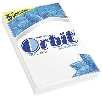 [Prime Day] Wrigley's Orbit Peppermi Multipack 5 x 5 Streifen, 7er Pack