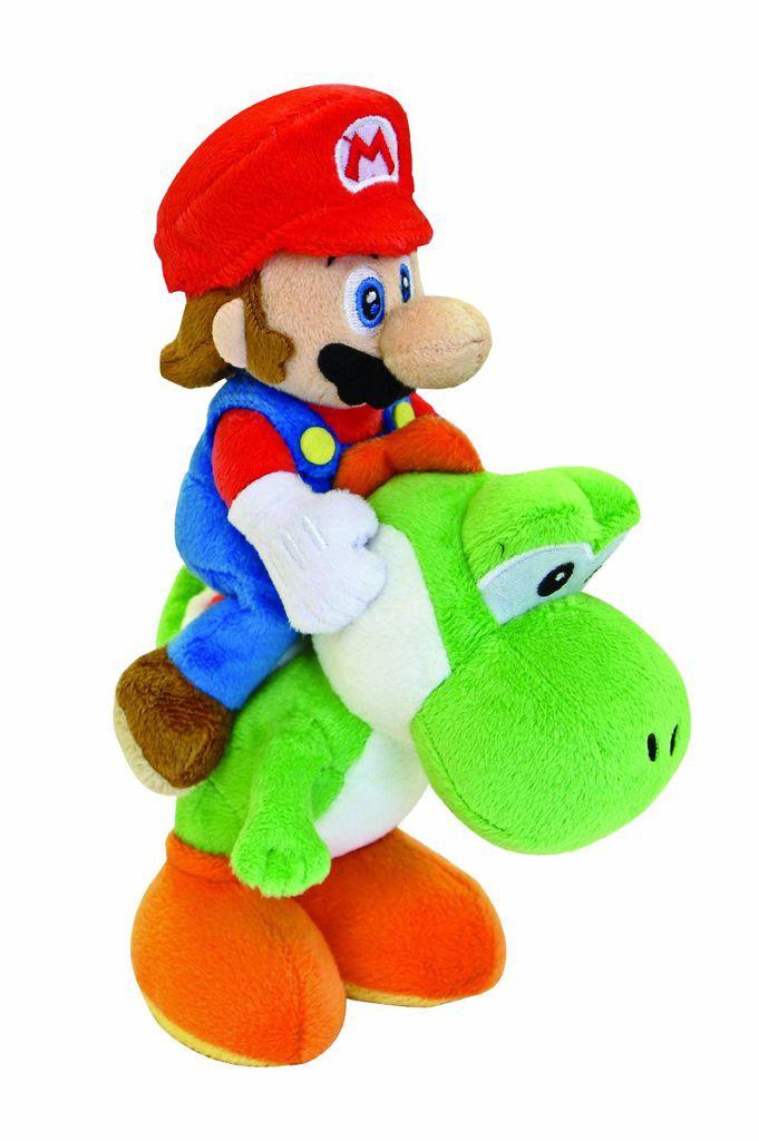 Plüschfigur - Mario auf Yoshi reitend (ca. 22cm)  für 12,95€ (4U2Play)