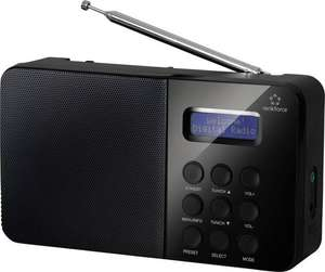 [Digitalo.de] Renkforce NE-6208 DAB+ Kofferradio DAB+, UKW Schwarz, 22€