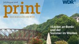 WDR print erscheint monatlich als kostenloses Magazin - Abo oder PDF !
