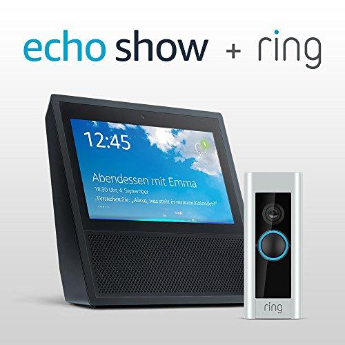 Amazon Show + Ring Door Pro  als Paketpreis für 279€ statt 498€... Mega...