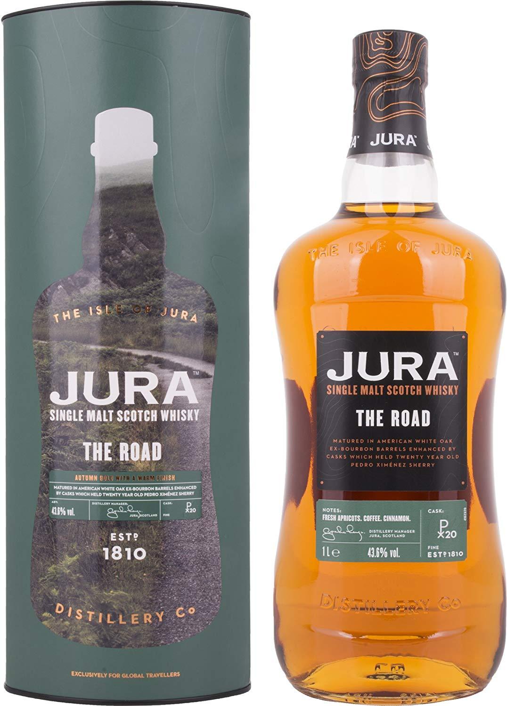 Whisky - Jura The Road  - 1 Liter - 44.99€ (Grenzgänger CZ Travel-Free-Shop)