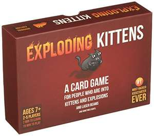 [Prime Day] Exploding Kittens: A Card Game About Kittens and Explosions and Sometimes Goats