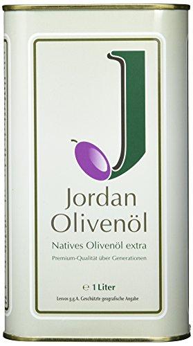 Jordan Olivenöl - 1 Liter Natives Olivenöl [Amazon Prime Day]
