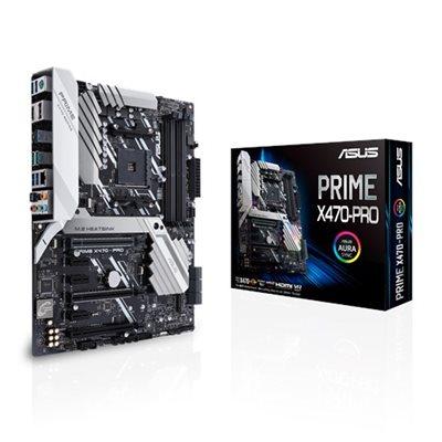 ASUS PRIME X470-PRO, Mainboard (G-LAN, SATA3, USB 3.1, M.2) (MASTERPASS)