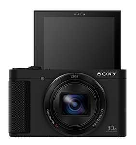 Sony DSC-HX90 Kompaktkamera (30x Opt. Zoom, 60x Klarbild-Zoom, 7,5 cm (3 Zoll) Display, 5-Achsen Bildstabilisator, Full HD Video)