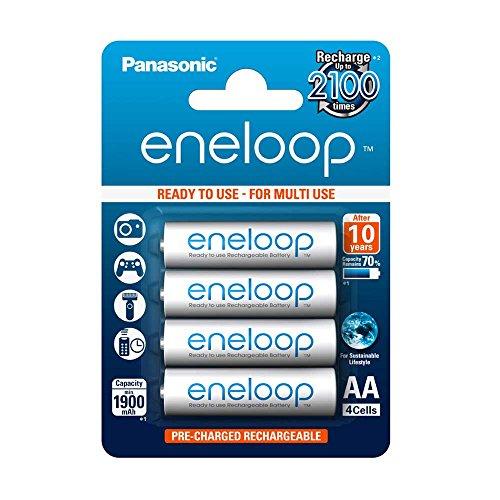 [AMAZONE PRIME] Panasonic eneloop, AA Mignon, 4er Pack, und AAA Micro 4er Pack für 4,87€