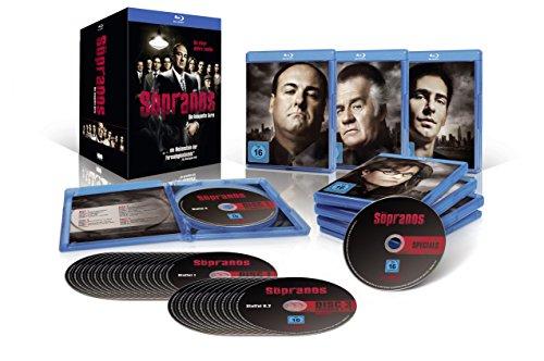 Sopranos - Die komplette Serie Limited Edition (Blu-ray) für 59,97 & Scrubs Komplettbox Staffel 1-9 (DVD) für 34,90€ (Amazon Prime Blitzangebot)