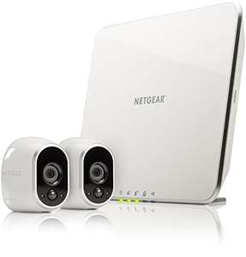 [Amazon Prime Day] Netgear Arlo VMS3230-100EUS Smart Home 2 HD-Überwachung Kamera-Sicherheitssystem (100% Kabellos, Indoor/Outdoor, Bewegungssensor, Nachtsicht) Weiß