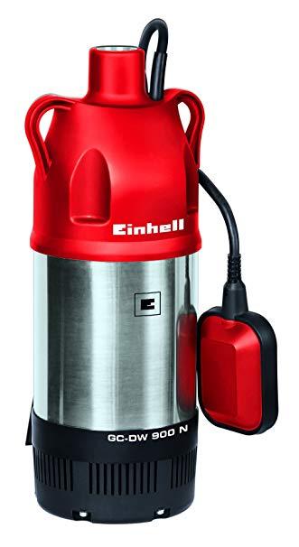 (Prime-Day) Einhell Tauchdruckpumpe GC-DW 900 N (900 W, max. 6000 l/h, 32 m Förderhöhe, Fremdkörper bis 2,5 mm, Stufenlos höhenverstellbarer Schwimmerschalter)