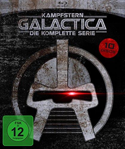Kampfstern Galactica - Die komplette Serie (9 Blu-rays + DVD) für 24,97€ (Amazon Prime Blitzangebot)