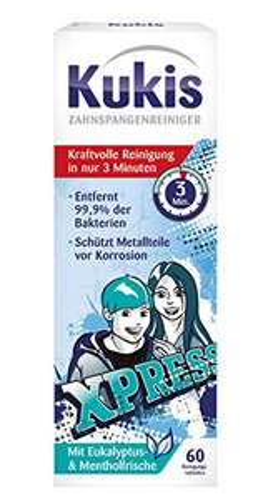Prime Day Angebot: Kukis Zahnspangen & Knirscherschienen Reiniger