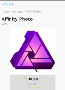 Mac AppStore Affinity Photo