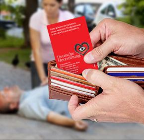 Notfallausweis + Herznotfallset kostenlos bestellen