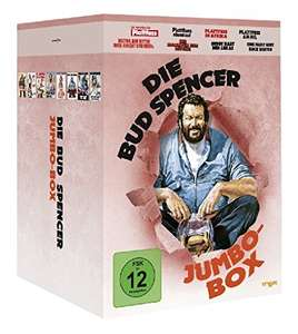 Die Bud Spencer Jumbo Box [8 DVDs] für 27,97€ / Amazon Prime Day