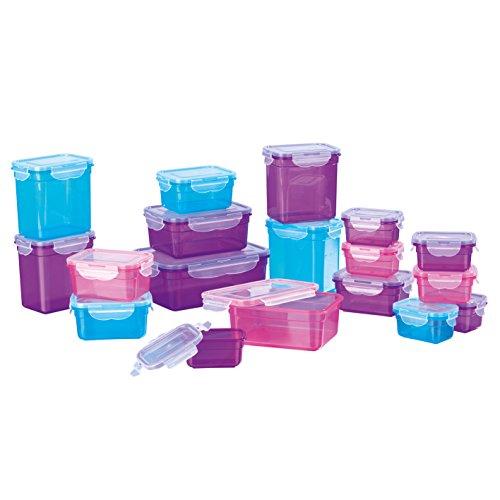 GOURMETmaxx Frischhaltedosen - Megapaket mit 18 Dosen / 18 Deckeln für 18,39€ (Verkauft von Amazon)