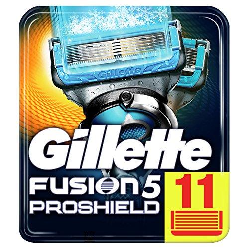 Gillette Fusion5 ProShield Chill, 11x Klingen im Prime Day 24% reduziert!