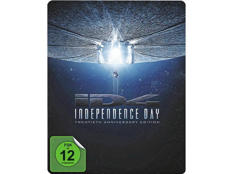 Independence Day (Steelbook Edition) [Blu-ray] für 9€ [Mediamarkt]