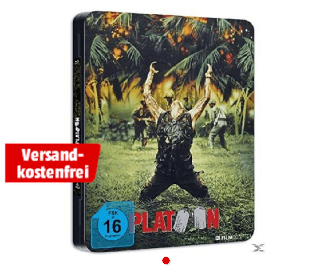Platoon (Steel Edition) [Blu-ray] für 9€ inkl. Versand [Mediamarkt]