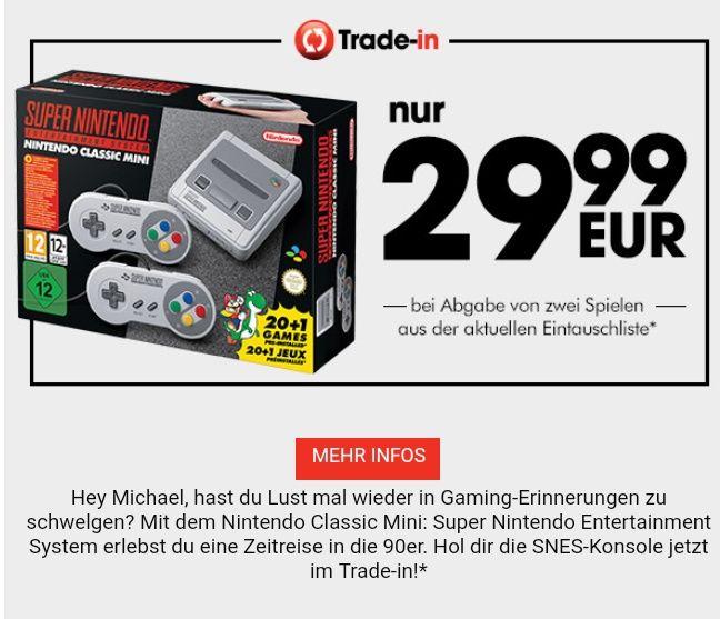 (Gamestop) Retro Konsolen Trade-in
