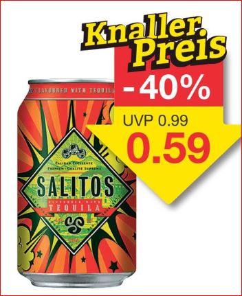 SALITOS Tequila, 0,33 Liter für 59 Cent [Jawoll]