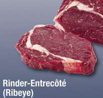 [Metro] Tagesdeal am 25.07.: Rinder-Entrecôte (Ribeye) für 14,97€/kg