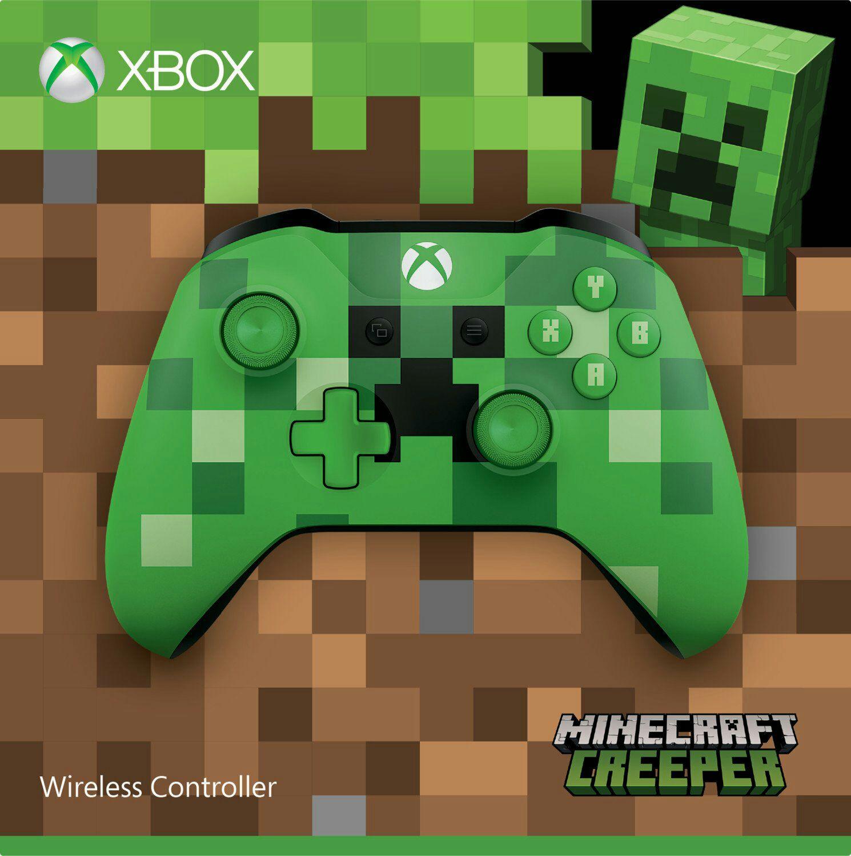 Xbox One S Wireless Controller (Minecraft Green Limited Edition) für 32,08€ (Amazon)