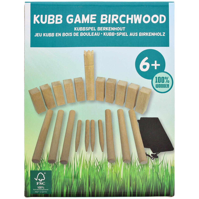 Kubb-Wikingerschach aus Birkenholz für 7,95 € @ Action-Markt