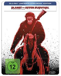 Planet der Affen: Survival - Limited Steelbook Edition (Blu-ray) für 15€ versandkostenfrei (Amazon Prime & Media Markt)
