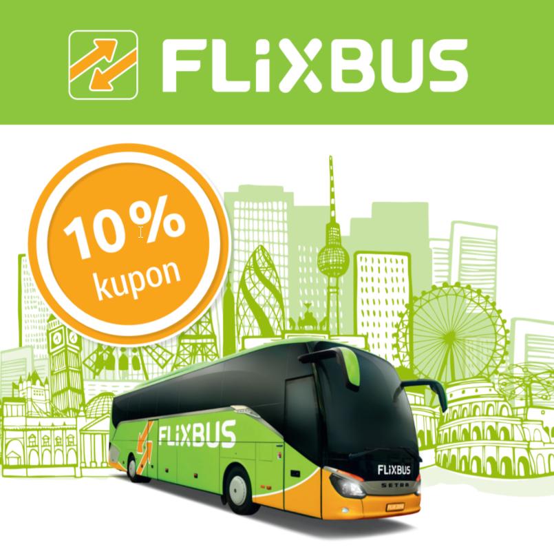 10% Flixbus codes
