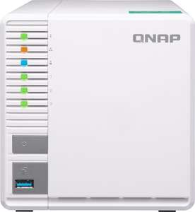[nbb]  QNAP Systems TS-328 NAS 3-Bay (0/3 HDD/SSD, 2x GbE LAN, 2x USB 3.0, Realtek RTD1296, 2GB RAM, 4GB Flash) für 199€ bzw. 174€ bei Zahlung mit Masterpass