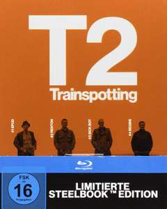 T2 Trainspotting Limited Edition Steelbook (Blu-ray) für 7,99€ bzw. 7,19€ (Müller)