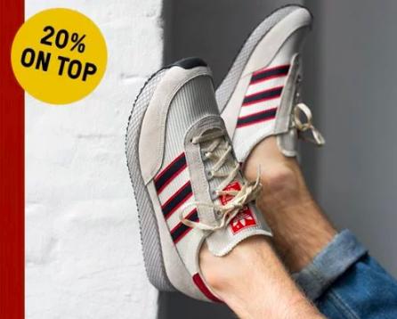20% Extra-Rabatt auf den Sale bei [hhv] --> 20% auf Birkenstock, Adidas, Lacoste, Nike uvm.