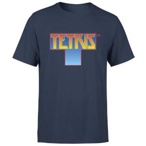 Tetris T-Shirt (navy blau)