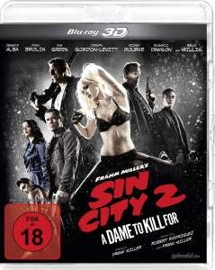Sin City 2: A Dame to Kill for (3D Blu-ray) für 4,99€ (Amazon + Saturn + MM)