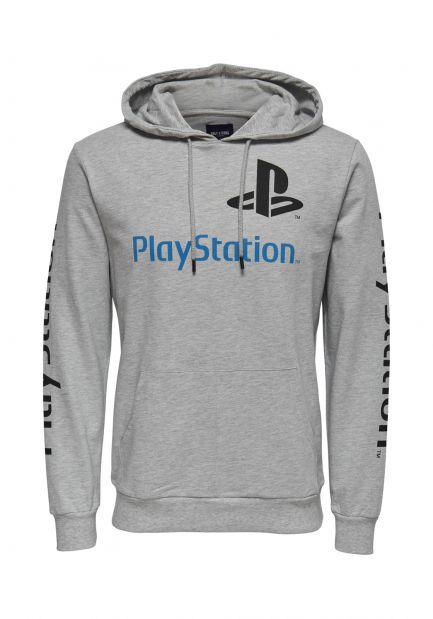 Playstation Hoodie grau oder schwarz incl. Versand