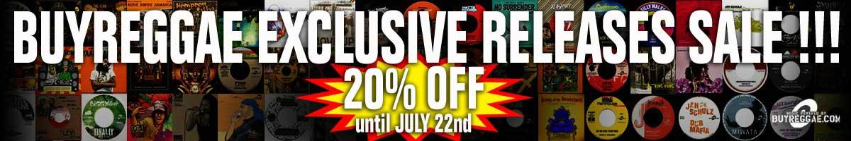 20% auf Reggae Vinyl --> Buyreggae.com Exclusive Release Sale
