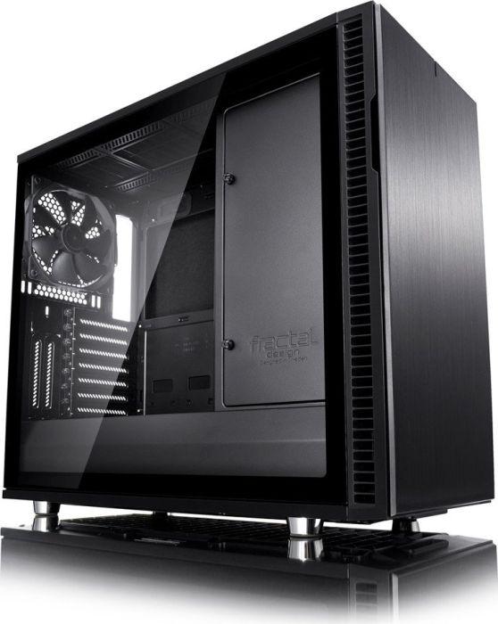 Fractal Design Define R6 Blackout TG schallgedämmtes ATX-Gehäuse mit Lüftersteuerung und Glasfenster für 84€ [NBB + Masterpass]
