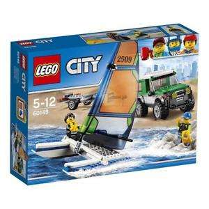 LEGO City - Geländewagen mit Katamaran (60149) für 9,99€ (Thalia + Amazon)