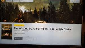 (FEHLER im Shop??) Xbox Store Argentinien The Walking Dead Collection (Xbox GOLD User)